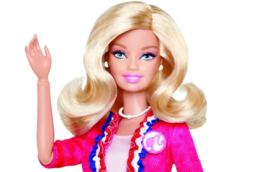 Barbie has decided to run for President. (Photo courtesy of Mattel)