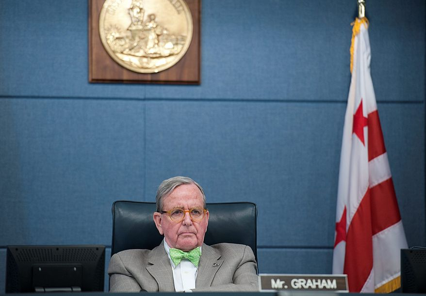 """D.C. Council member Jim Graham expects a """"very long list"""" of stakeholders to testify in favor of the trust's mission and programs at his budget session Monday. (Barbara L. Salisbury/The Washington Times)"""