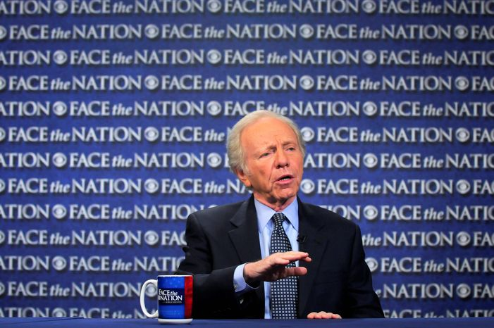 """I'd say it's a reasonable question and that the White House ought to be conducting its own internal investigation of White House personnel who were in Cartagena, just to make sure that none of them were involved in this kind of inappropriate behavior,"" said Sen. Joe Lieberman, chairman of the Senate Homeland Security Committee. (Associated Press/CBS News)"