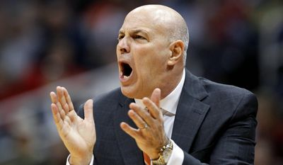 Seth Greenberg guided Virginia Tech to a 170-123 record in nine seasons, with one trip to the NCAA tournament (in 2007) and five NIT appearances. Athletic director Jim Weaver cited a lack of stability in the program for firing Greenberg. (Associated Press)