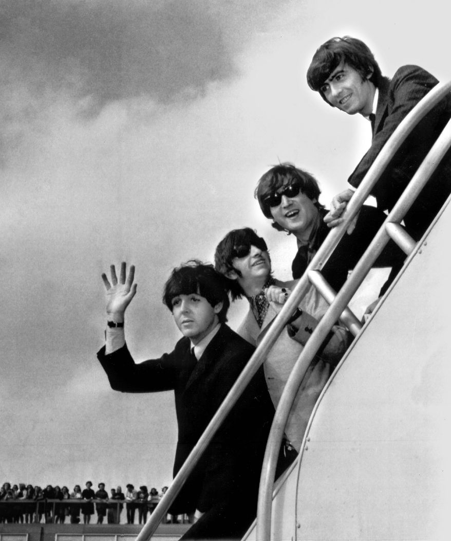 """The Beatles' performance at the District's Washington Coliseum in February 1964 is the subject of """"The Lost Concert"""" documentary. (Associated Press)"""