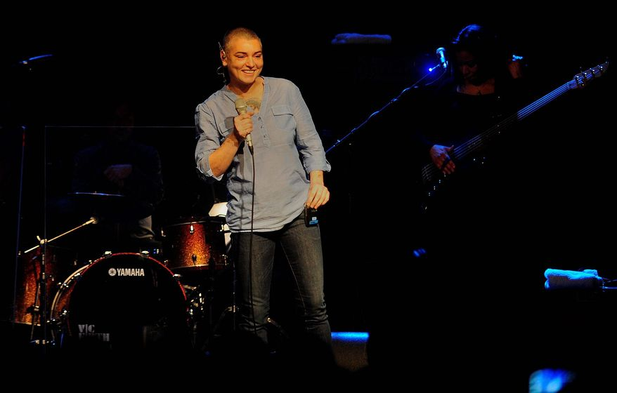Sinead O'Connor cited her bipolar disorder in announcing cancellation of her 2012 tour. She suffered a breakdown recently. (Associated Press)