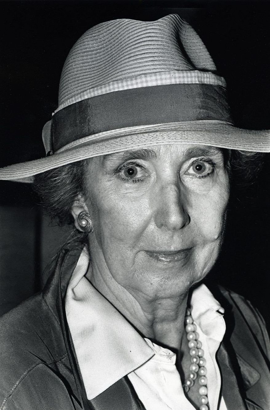 Viola Drath, seen here in 1987, died under mysterious circumstances last year at the age of 91. (The Washington Times)