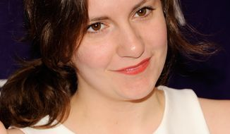 "Actress Lena Dunham attends the world premiere of ""Supporting Characters"" during the Tribeca Film Festival on Friday, April 20, 2012 in New York. (AP Photo/Evan Agostini)"