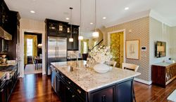 The kitchens feature birch or maple cabinets, granite counters and stainless steel appliances.