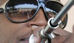 """""""We're just experiencing good times,"""" says Troy """"Trombone Shorty"""" Andrews of the array of music festivals in Louisiana. (Associated Press)"""