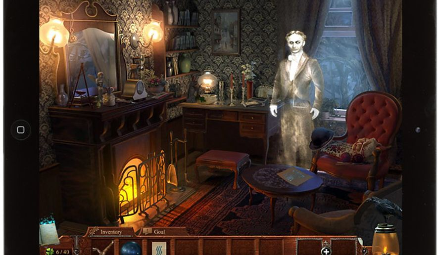 Learn about a famous magician in the hidden object iPad game Midnight Mysteries: Haunted Houdini.