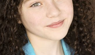 "This undated photo provided by Boneau/Bryan-Brown shows actress Lilla Crawford. On Friday, April 27, 2012, Crawford was unveiled as the girl slated to play the title role in a fall revival of the Tony Award-winning musical ""Annie."" (AP Photo/Boneau/Bryan-Brown)"