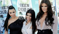 From left: Kim, Kourtney and Khloe Kardashian (Associated Press)