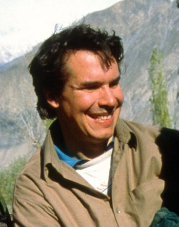 **FILE** Greg Mortenson, founder of the Central Asia Institute, a Montana-based organization which builds schools for girls in remote tribal areas of Pakistan and Afghanistan (Associated Press/New Mark Communications via the St. Paul Paul Pioneer Press)