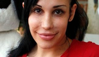 """Octomom"" Nadya Suleman says getting a fresh start through Chapter 7 bankruptcy is what's best for her children. She owes more than 20 times her net worth. (Associated Press)"