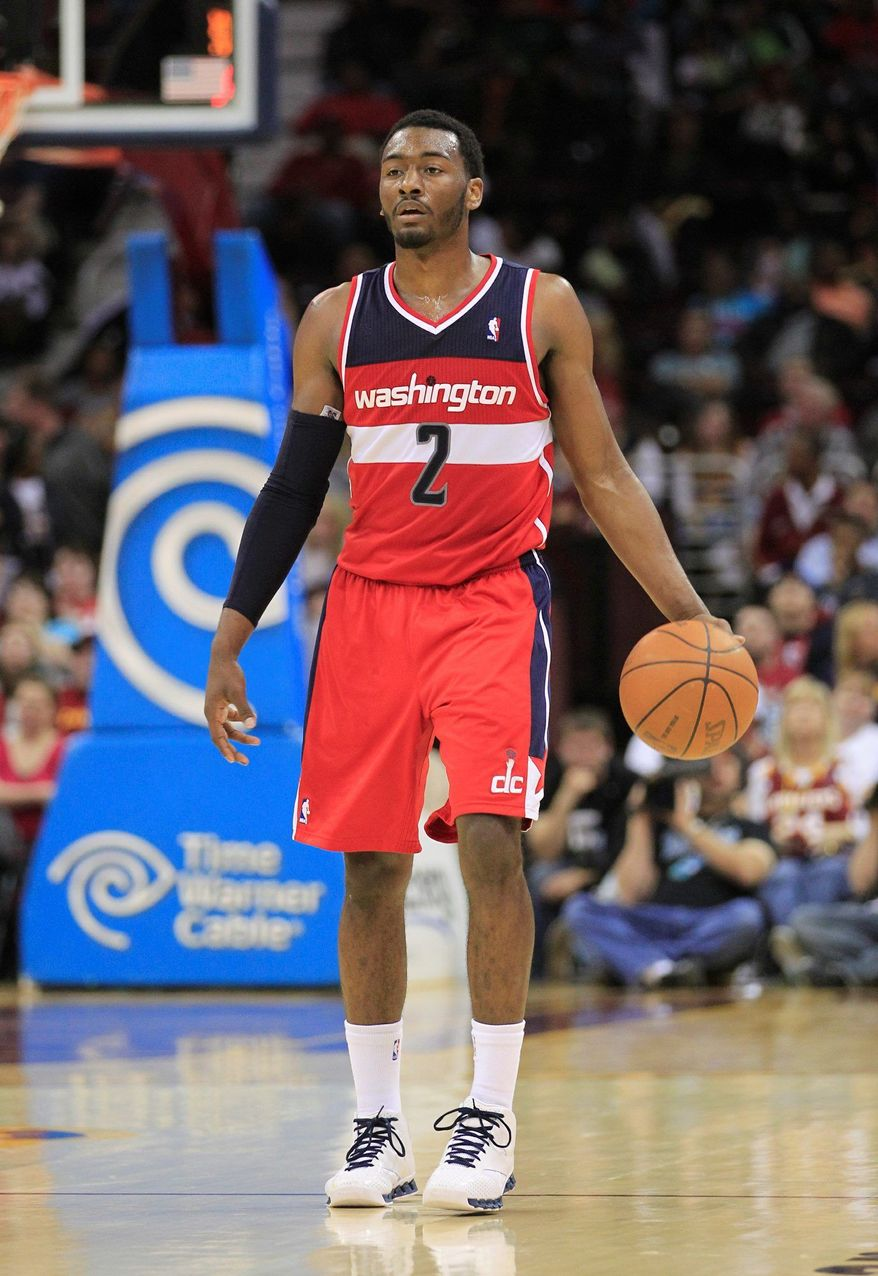 Point guard John Wall is the building block the Wizards must complement if they want to transition from NBA laughingstock to playoff contender. (Associated Press)