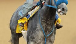 Creative Cause has won some of California's biggest stakes races on the road to the Kentucky Derby. The Run for the Roses is Saturday. (Associated Press)