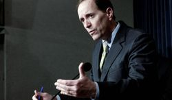 Rep. Dave Camp, Michigan Republican, is chairman of the House Ways and Means Committee. (Associated Press)
