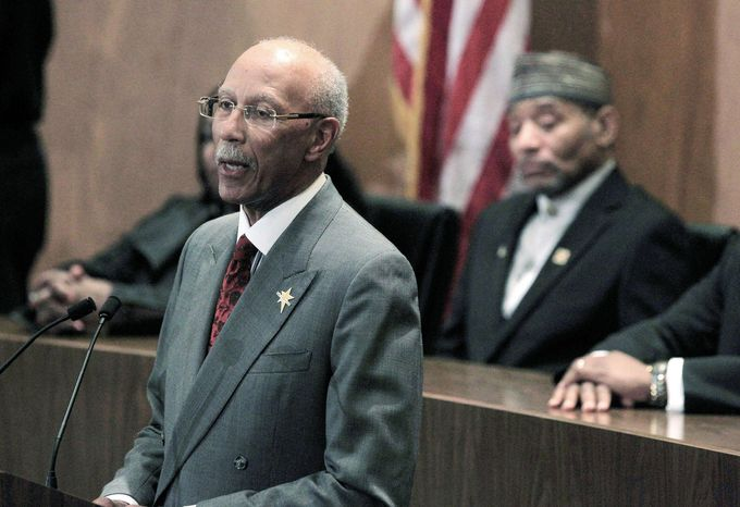 Detroit Mayor Dave Bing has presented a budget to the City Council that would cut more than 2,500 of Detroit's 10,800 jobs and shave $250 million in annual expenses. The proposals have riled city workers, but they cannot legally strike. (Associated Press)