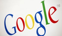 ** FILE ** The Google logo is displayed in the company's New York office in December 2010. (AP Photo/Mark Lennihan)