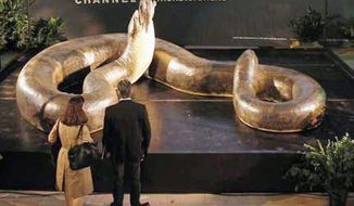 The Titanoboa exhibit at the Smithsonian Museum of Natural History features video interviews about the discovery of fossils of the largest snake species known to have existed on the planet (which researchers are comparing to finding Tyranosaurus Rex), as well as illustrations.