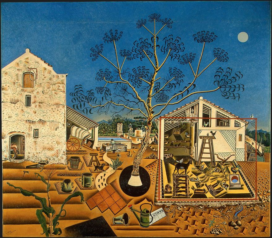 """The Farm,"" 1921-1922 (National Gallery of Art)"