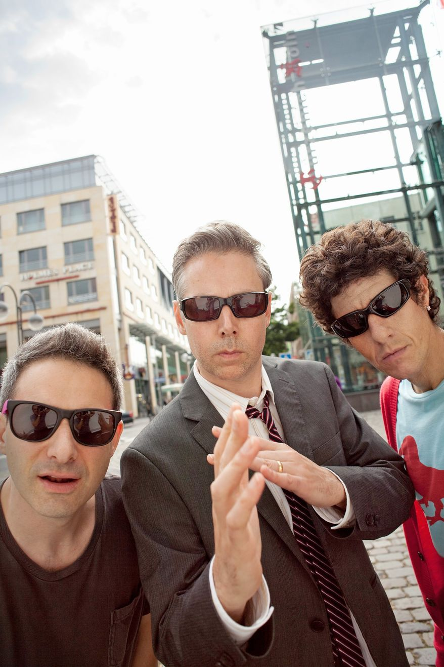 """**FILE** In this undated publicity image released by Nasty Little Man, Beastie Boys group members (from left) Adam """"Ad-Rock"""" Horovitz, Adam """"MCA"""" Yauch and Michael """"Mike D"""" Diamond are shown. (Associated Press/Nasty Little Man)"""