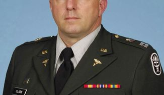 Capt. Bruce Kevin Clark is pictured in an undated photo. (AP Photo/U.S. Army)