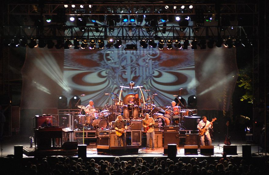 """The Allman Brothers Band performs at the Red Rock Station in Las Vegas in 2009. Duane Allman pushed his brother Gregg to perform in the early days. """"He would coax me along every step of the way,"""" Gregg said of his brother, who died in 1971. (Las Vegas News Bureau via Associated Press)"""