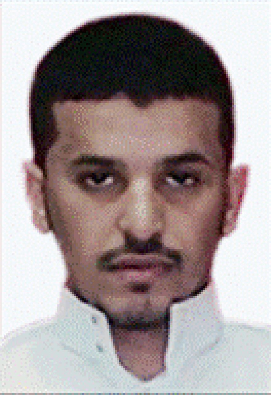 **FILE** This undated photo released Oct. 31, 2010, by Saudi Arabia's Ministry of Interior purports to show Ibrahim Hassan al-Asiri. (Associated Press/Saudi Arabia Ministry of Interior)