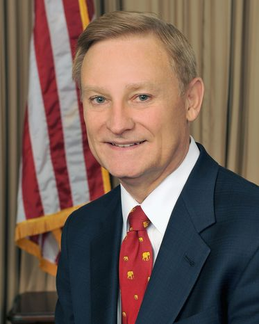 """We must make certain they do not harm the economy by drowning small business lenders in a sea of red tape,"" says Rep. Spencer Bachus, Alabama Republican, of the health care law."