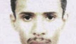**FILE** This photo released May 15, 2003, by the FBI shows Fahd al-Quso, who was charged as an al Qaeda member who helped plan the attack on the USS Cole that killed 17 American sailors in 2000. (Associated Press/FBI)