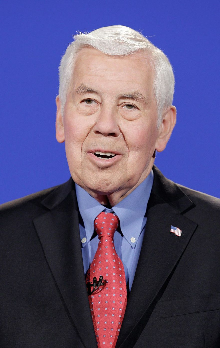 Sen. Richard G. Lugar, Indiana Republican
