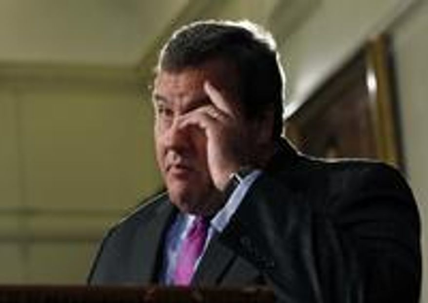 **FILE** New Jersey Gov. Chris Christie (Associated Press)