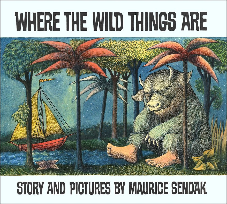 "Maurice Sendak's ""Where the Wild Things Are"" depicted the sometimes darker side of childhood. (AP Photo/HarperCollins)"