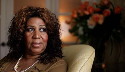 """Aretha Franklin is to be inducted into the GMA Gospel Music Hall of Fame on Aug. 14 along with Ricky Skaggs, the Hoppers, Dallas Holm, the late Rex Humbard and Love Song. Her 1972 album """"Amazing Grace"""" sold more than 2 million copies. (Associated Press)"""