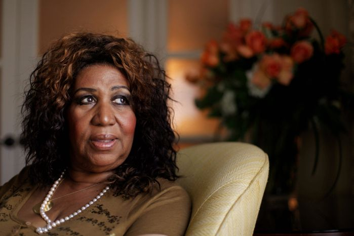 "Aretha Franklin is to be inducted into the GMA Gospel Music Hall of Fame on Aug. 14 along with Ricky Skaggs, the Hoppers, Dallas Holm, the late Rex Humbard and Love Song. Her 1972 album ""Amazing Grace"" sold more than 2 million copies. (Associated Press)"