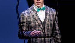 """Nick Jonas in """"How to Succeed in Business Without Really Trying."""" The production opened at Broadway's Al Hirschfeld Theatre in February 2011 and will close May 20. The Tony and Pulitzer winner has gone to Broadway three times in 50 years. (The Hartman Group via Associated Press)"""