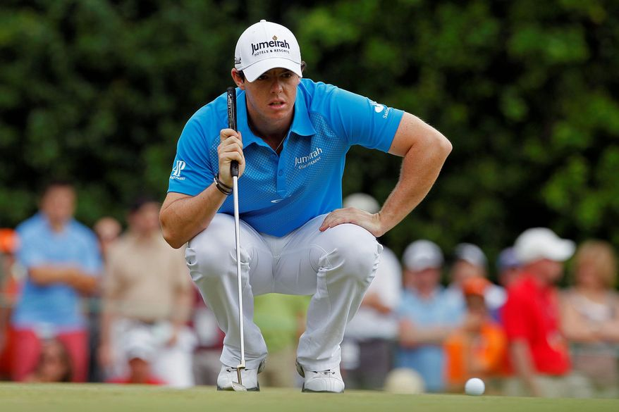 associated press Rory McIlroy reclaimed the world's No. 1 ranking despite losing in a three-way playoff at the Wells Fargo Championship last weekend. McIlroy and Luke Donald have taken turns at the top six times in the past 10 weeks.