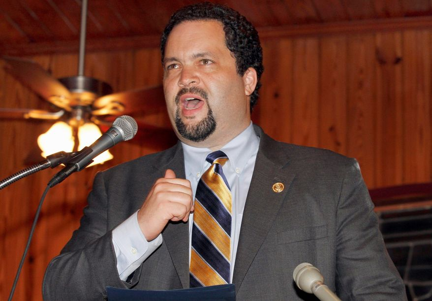 NAACP President Ben Jealous said the organization won't let recently enacted voter ID laws suppress turnout as it launched a nationwide drive to register thousands of mostly minority, student and elderly voters. (Associated Press)