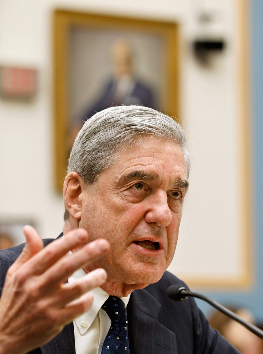 FBI Director Robert S. Mueller III testifies to the House Judiciary Committee on Wednesday in favor of reauthorizing the FISA Amendments Act. (Associated Press)