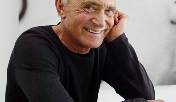 **FILE** Famed hairstylist Vidal Sassoon poses April 23, 2003, in his Beverly Hills, Calif., home. (Associated Press)