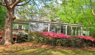 One of the three cottages has been completely renovated. It has two bedrooms and two baths.