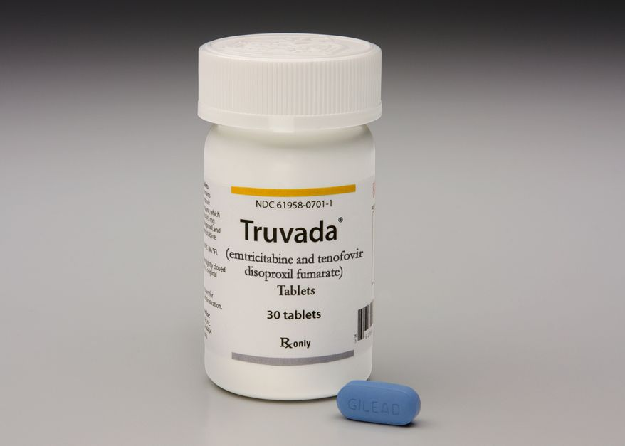 This photo provided by Gilead Sciences shows Truvada. (AP Photo/Gilead Sciences)