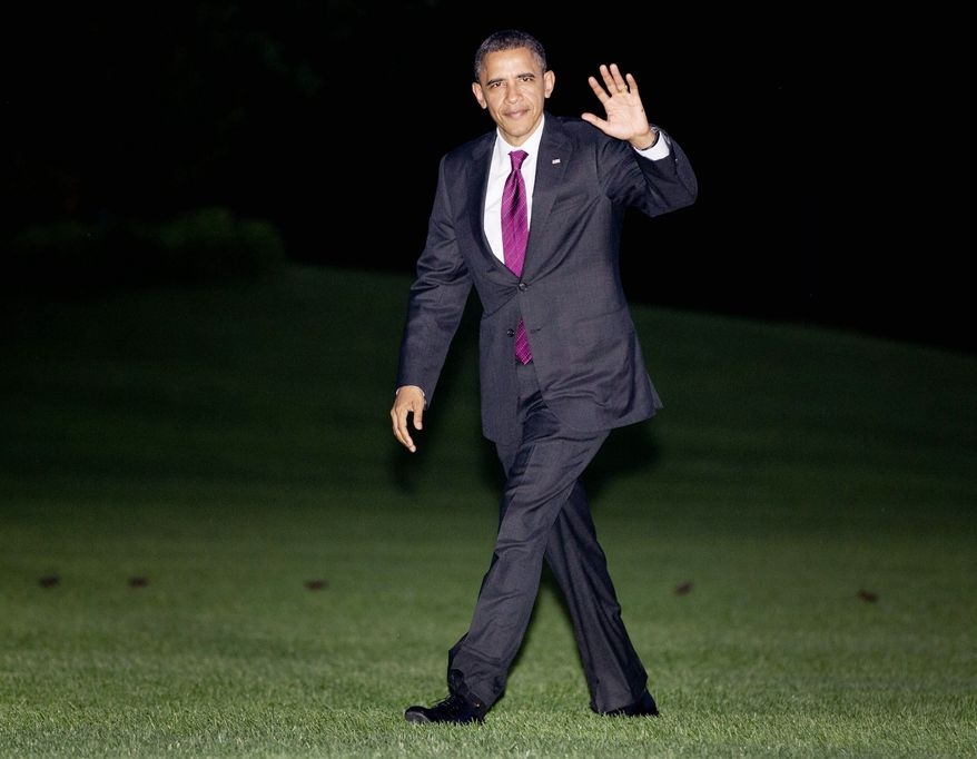 President Obama is in a close race with his presumed Republican rival, according to the findings of a weekend Washington Times/JZ Analytics poll and other national polls. But there's more enthusiasm for Mr. Obama. (Associated Press)