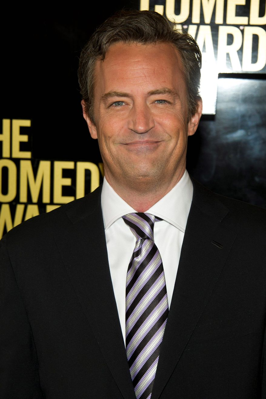 "Matthew Perry will star in ""Go On"" on NBC as a fast-talking, sarcastic sportscaster who loses his wife in a car accident. (Associated Press)"