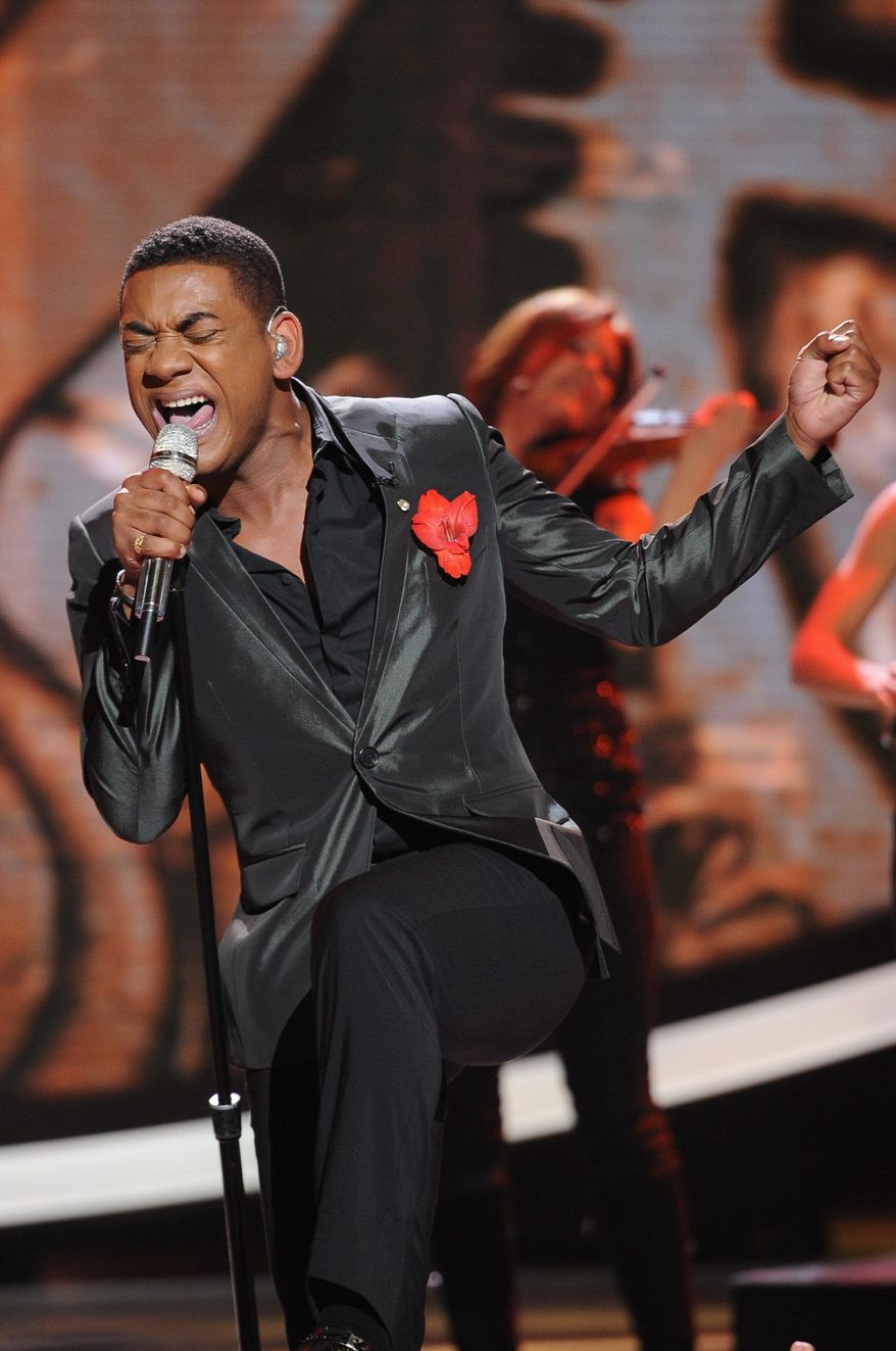 "Contestant Joshua Ledet performs Wednesday on ""American Idol."" He earned the right to remain in the competition, but the show has lost 25 percent of its audience this season, and Fox is promising undisclosed changes for next season. (Associated Press)"