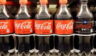 Coca-Cola products (Associated Press)