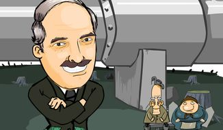 A film by ARU TV says Belarus President Alexander Lukashenko has made a lot of money, while the country has not benefited. (ARU TV)