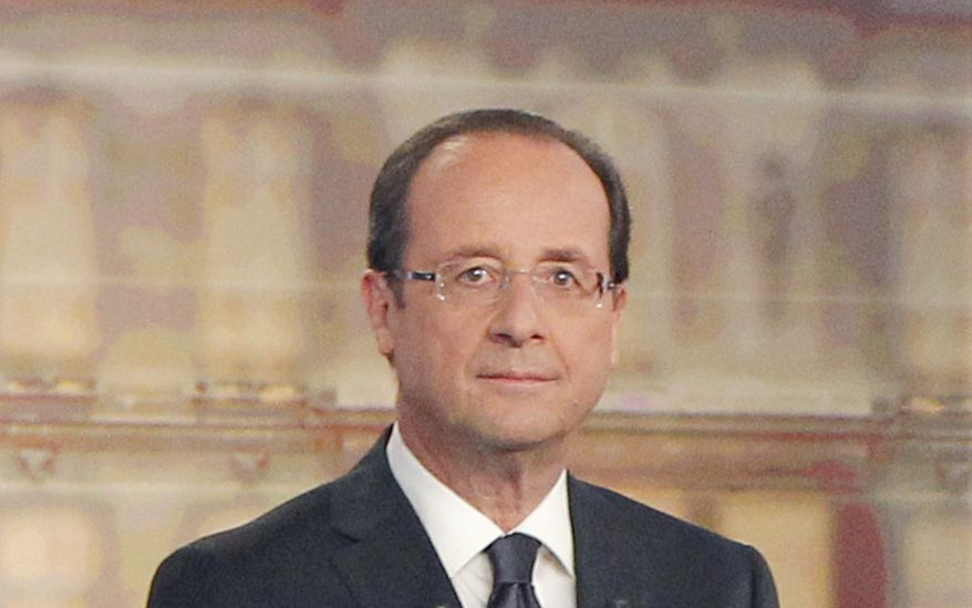 **FILE** French President Francois Hollande (Associated Press)