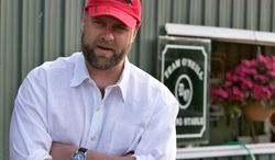 I'll Have Another trainer Doug O'Neill will try to make it two for two in the Triple Crown races with a victory in the Preakness Stakes on Saturday. I'll Have Another won the Kentucky Derby on May 5, 2012. (Associated Press)
