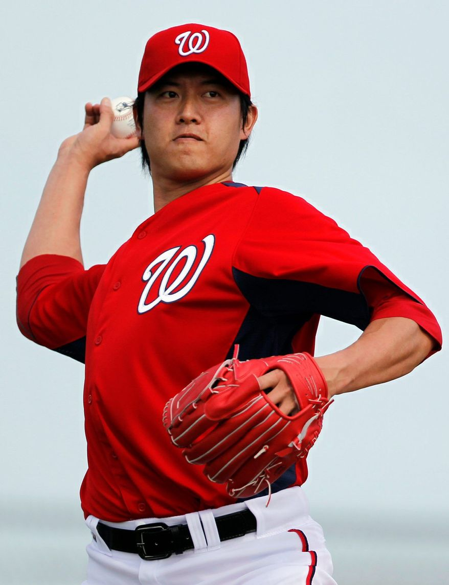 Chien-Ming Wang is allowed to remain on a rehab stint until May 27, at which time he likely will be worked into the Nationals' rotation. (Associated Press)