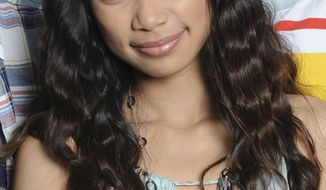 ** FILE ** In this May 10, 2012, file photo released by Fox, Jessica Sanchez poses in Los Angeles. The Philippines' leader is rooting for Sanchez, the 16-year-old American Idol finalist of Filipino and Latino heritage. (AP Photo/Fox, Michael Becker, File)