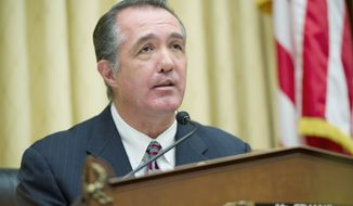 Rep. Trent Franks, Arizona Republican, introduced the District of Columbia Pain-Capable Unborn Child Protection Act in January. (Barbara L. Salisbury/The Washington Times)
